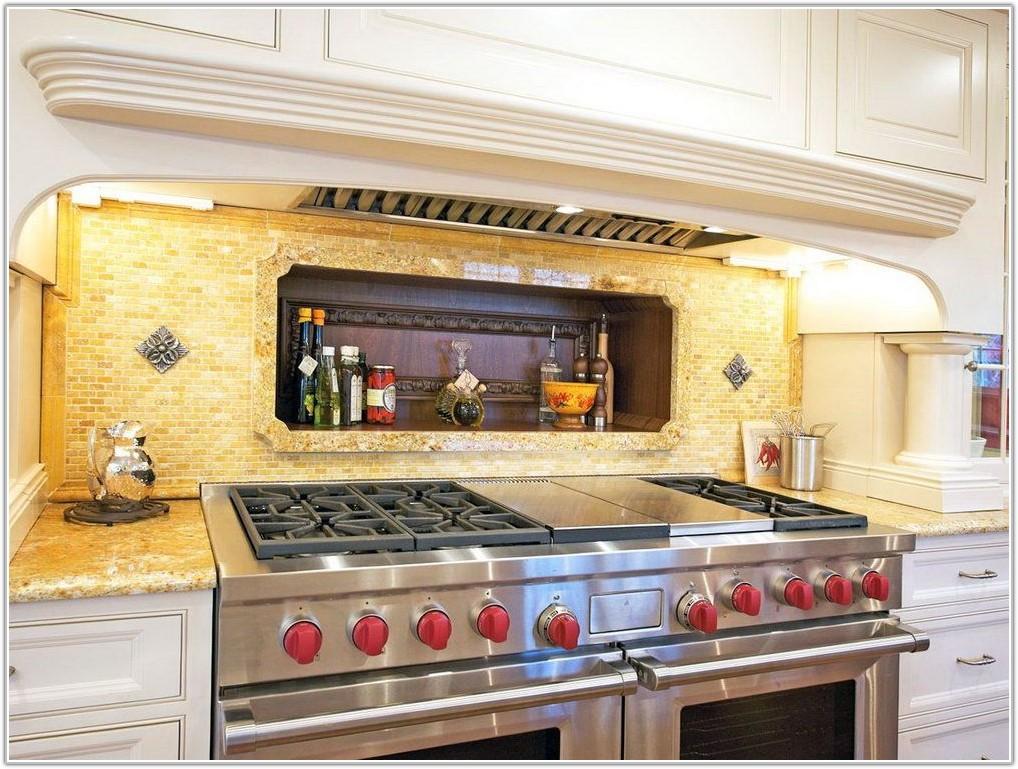Yellow Glass Tiles For Kitchen Backsplash
