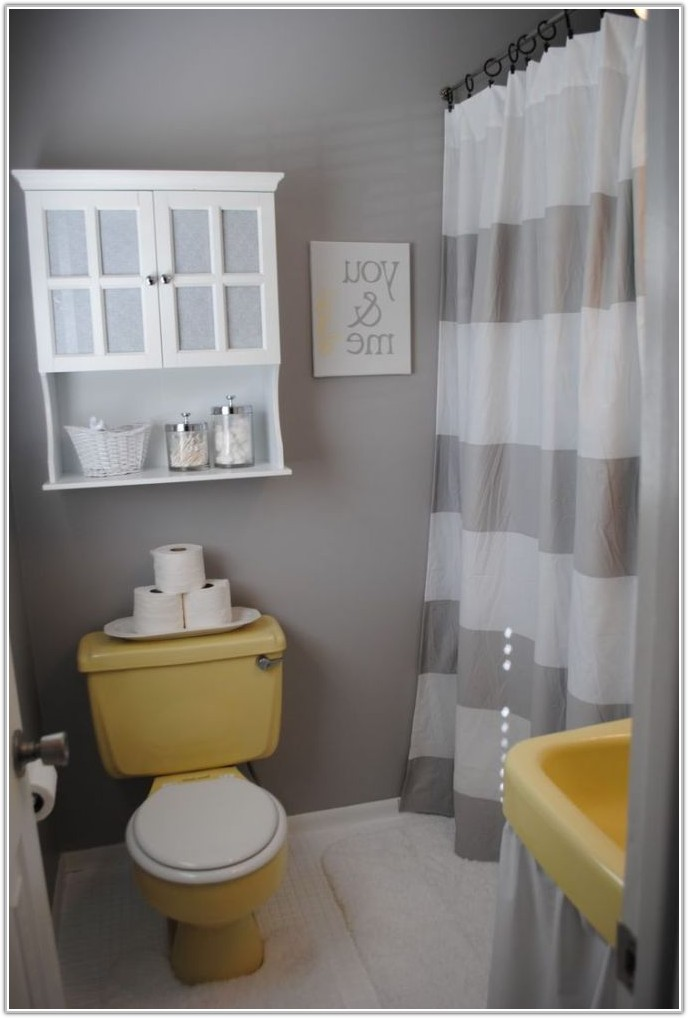 Yellow Tile Bathroom Decorating Ideas