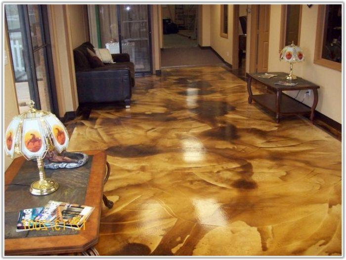 Acid Wash Stain Concrete Floors