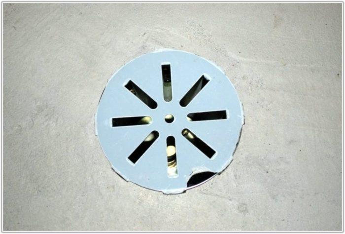 Basement Floor Drain Cover