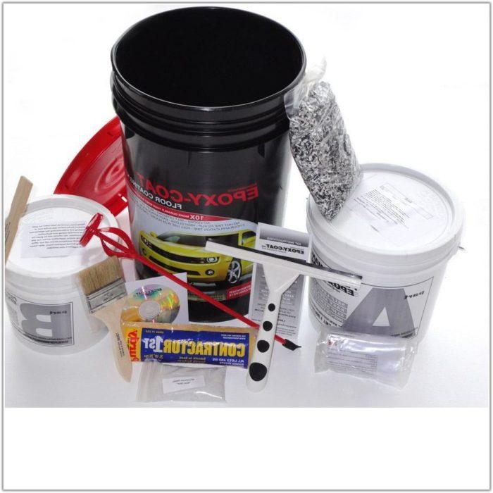 Black Epoxy Garage Floor Kit