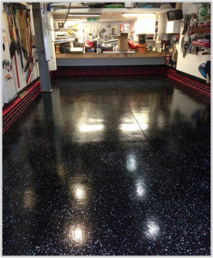Black Epoxy Garage Floor Paint