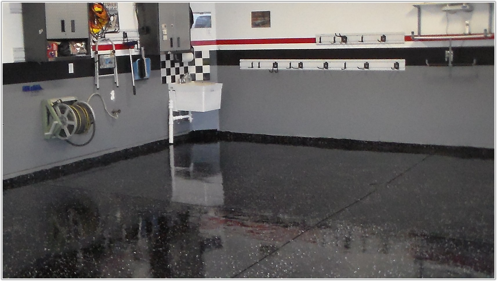 Black Garage Floor Epoxy