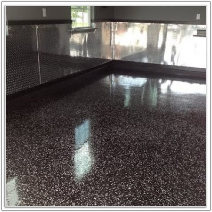 Commercial Grade Epoxy Garage Floor Coating