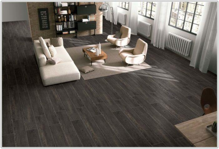 Dark Grey Hardwood Floors