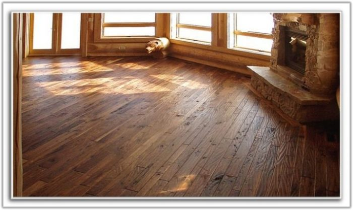 Dark Hand Scraped Hardwood Flooring