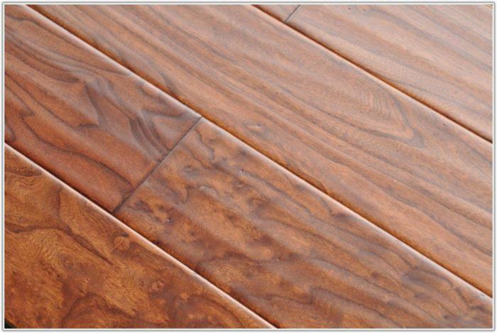 Dark Hand Scraped Hardwood Floors