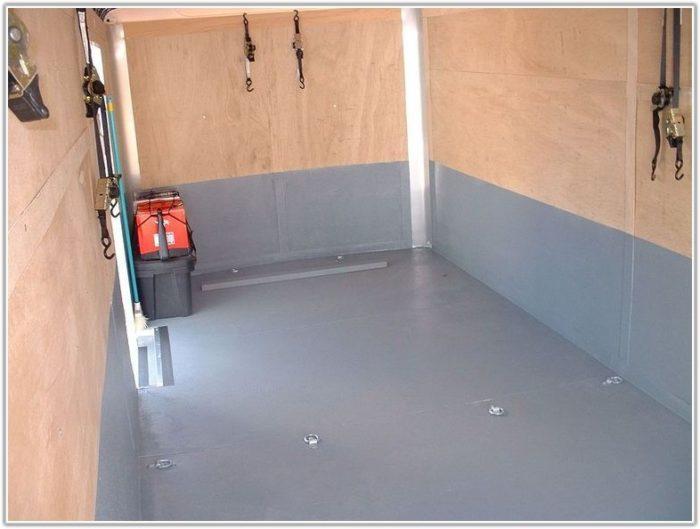 Enclosed Trailer Flooring Options