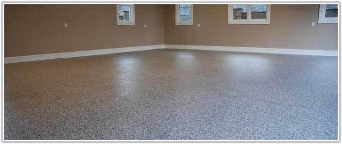 Epoxy Coat Garage Floor