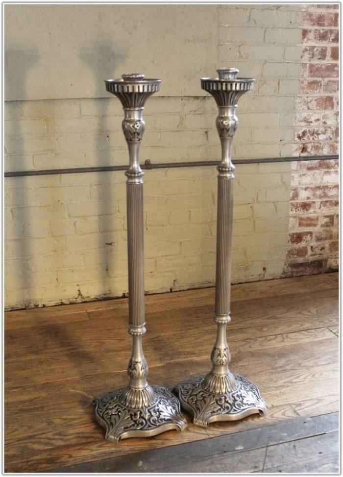 Floor Pillar Candle Stands