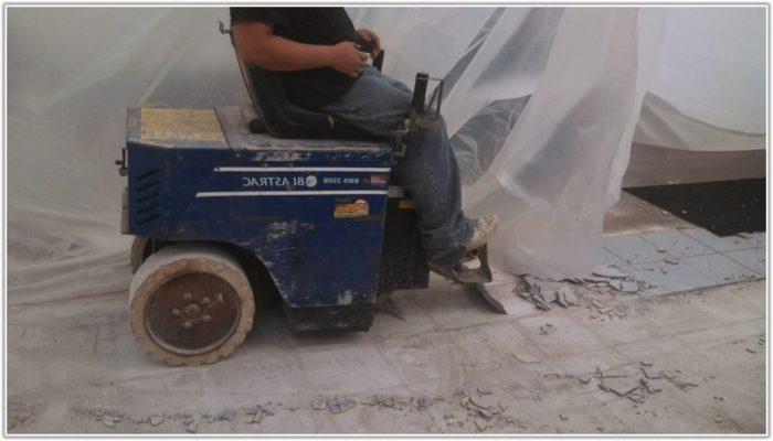 Floor Tile Removal Machine