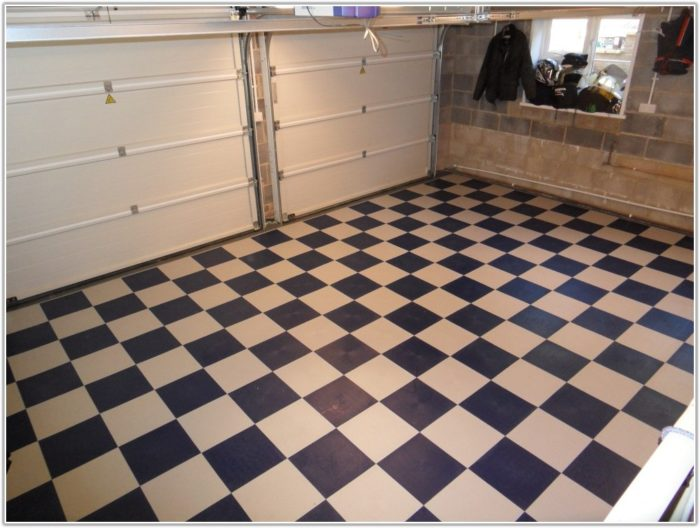 Garage Floor Interlocking Tiles
