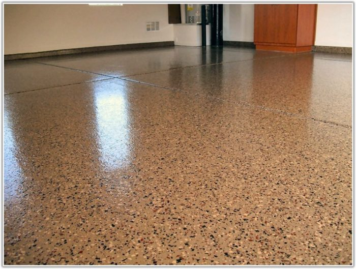 Gray Epoxy Garage Floor Coating