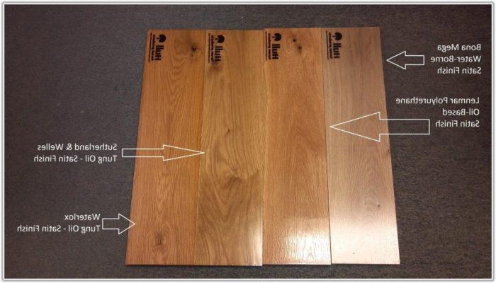 Grey Hand Scraped Hardwood Floors