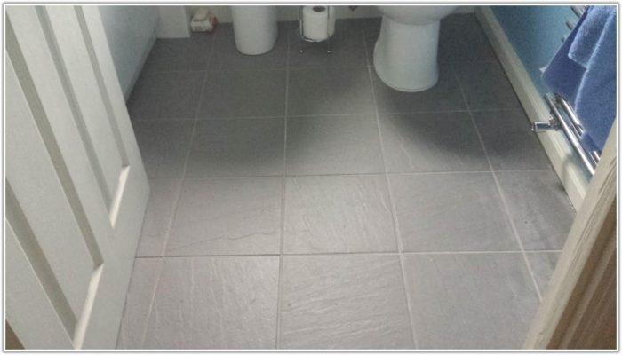 Grey Slate Effect Floor Tiles