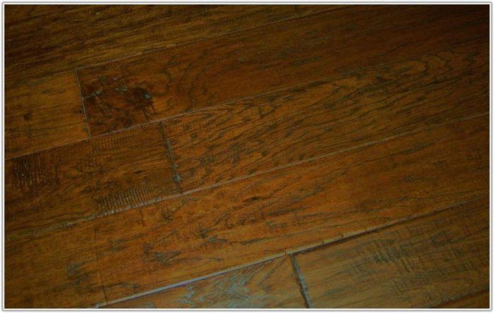 Hand Scraped Distressed Hickory Flooring