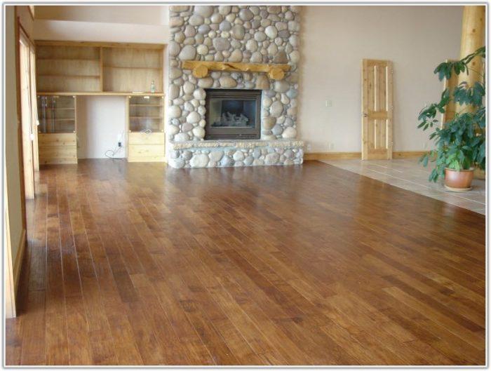 Hand Scraped Hickory Hardwood Floors