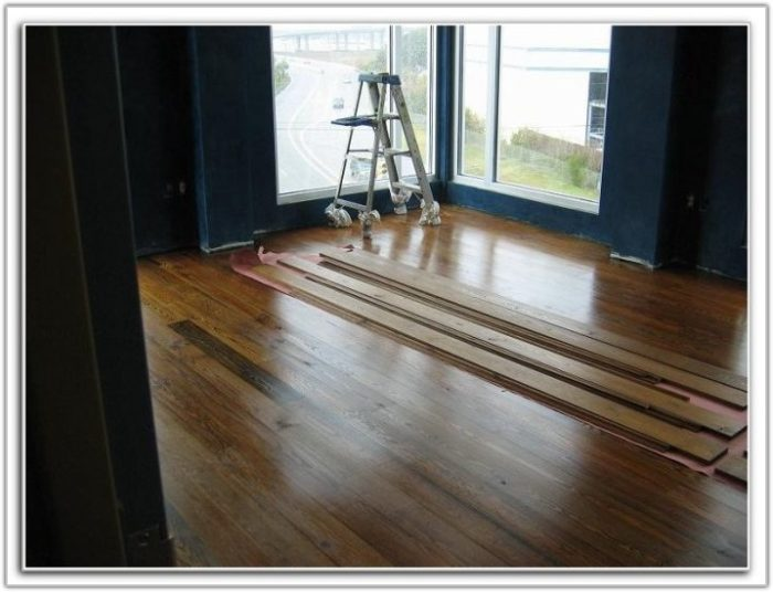 Hardwood Floor Over Concrete Slab