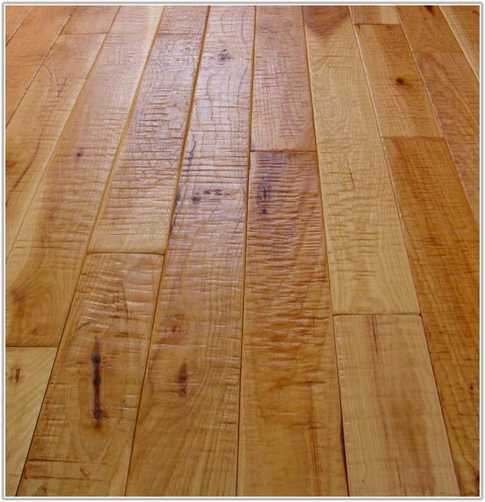 Hickory Hand Scraped Hardwood Flooring