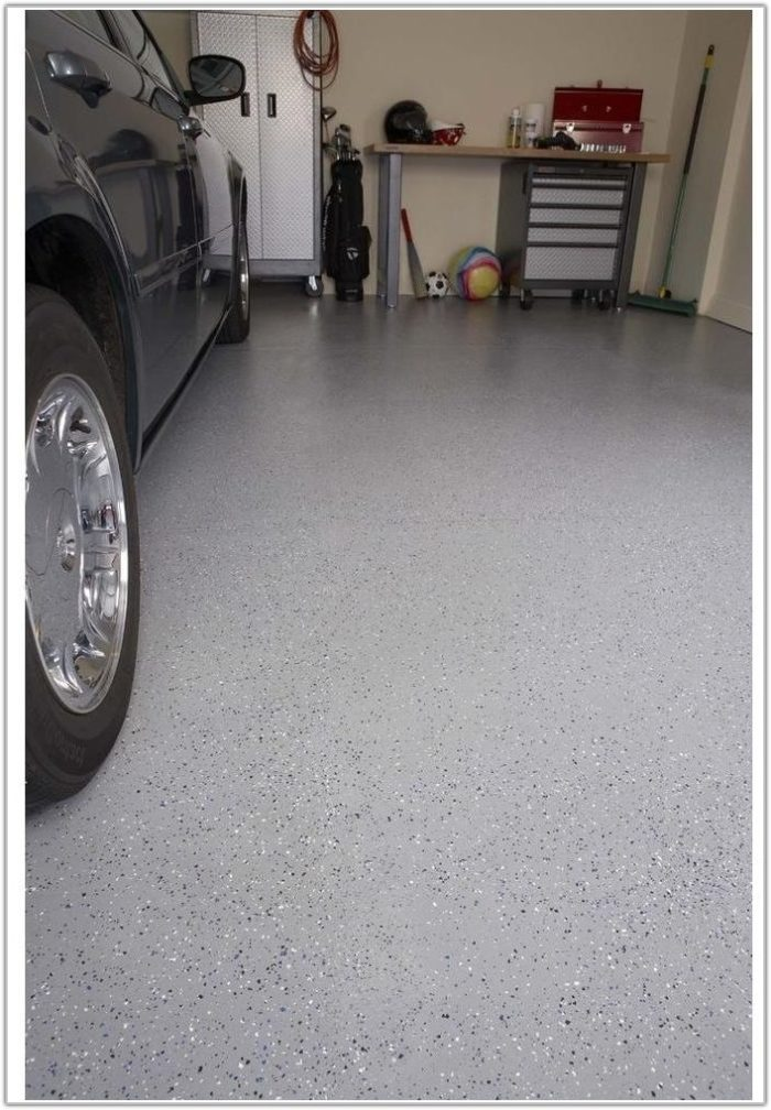 High Gloss Epoxy Garage Floor Coating