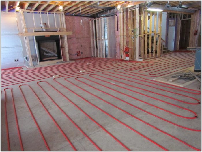 Installing Radiant Floor Heating In Existing Home