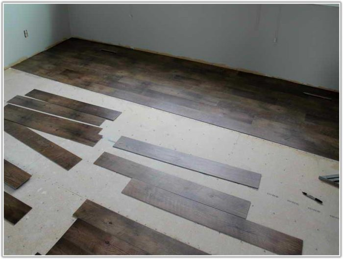 Installing Wood Laminate Flooring Over Concrete