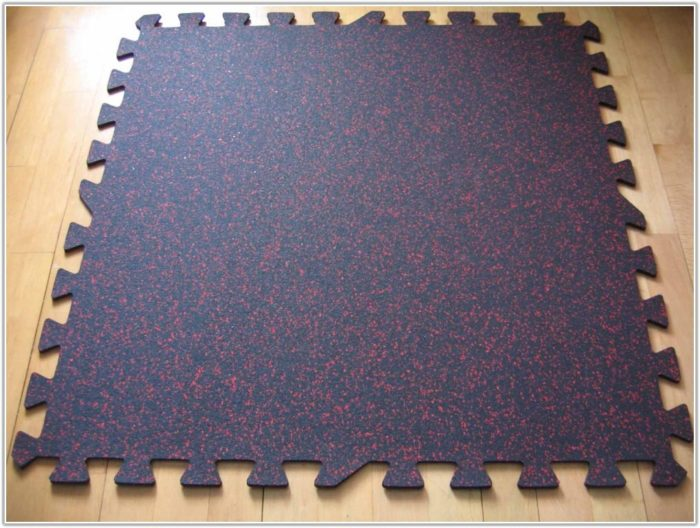 Interlocking Rubber Floor Mats