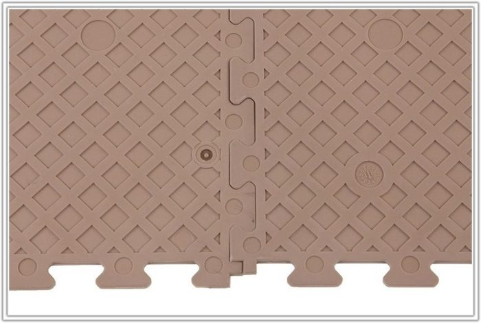 Interlocking Vinyl Floor Tiles