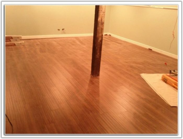 Laminate Flooring For Basement Bathroom