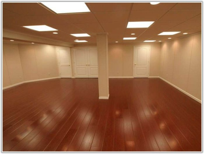 Laminate Flooring In The Basement