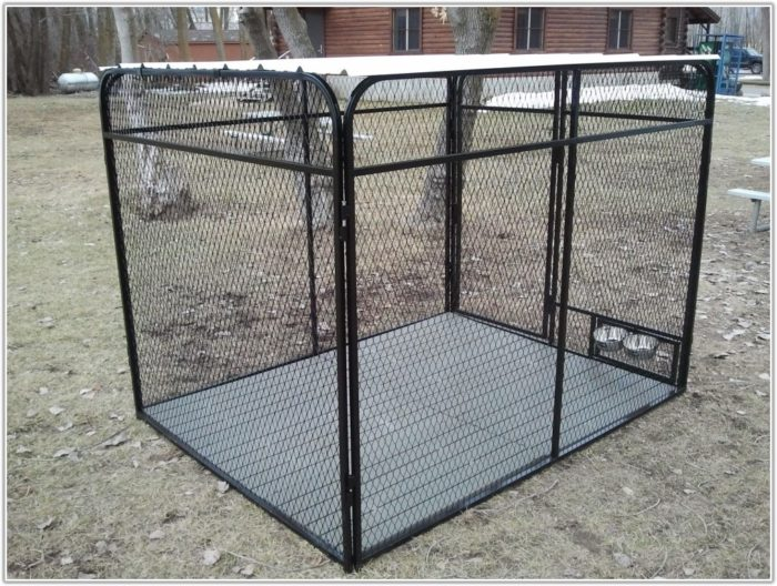 Outside Dog Kennel Flooring