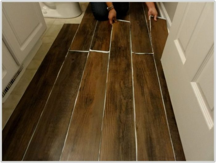 Peel And Stick Flooring Home Depot