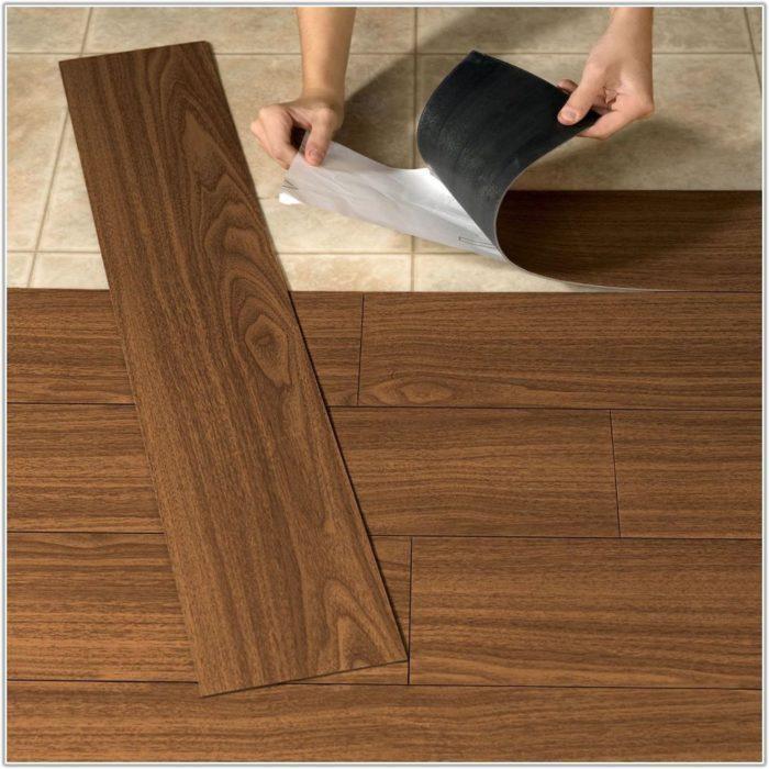 Peel And Stick Wood Flooring On Walls