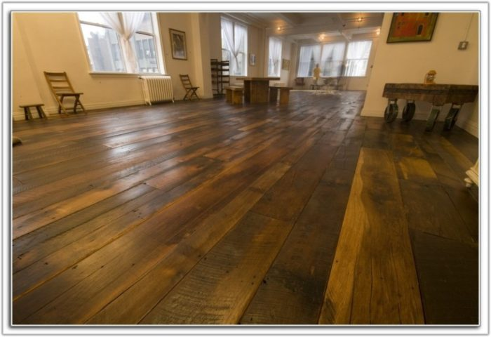 Prefinished Wide Plank Hardwood Flooring
