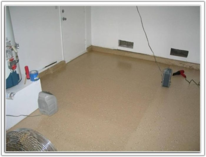 Quikrete Epoxy Garage Floor Coating Kit