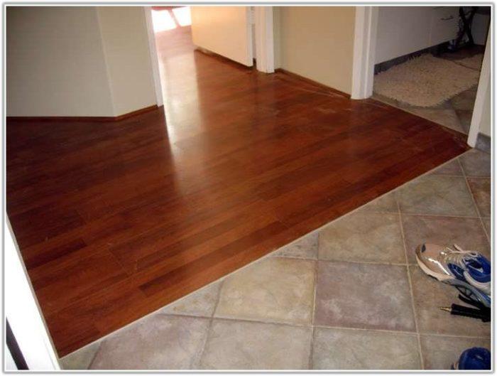 Tile To Wood Floor Transition Strip