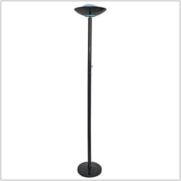 Halogen Torchiere Floor Lamp 500 Watts Lamps Home