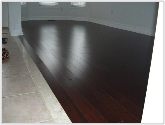 Uneven Tile To Wood Floor Transition