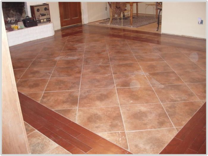 Unique Tile Floor Designs