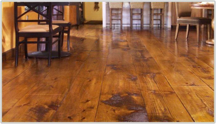 Wide Plank Hickory Hardwood Flooring