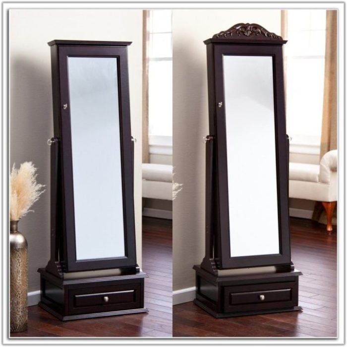 Z Gallerie Floor Mirror