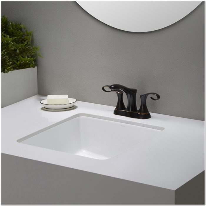 15 Inch Square Undermount Bathroom Sink