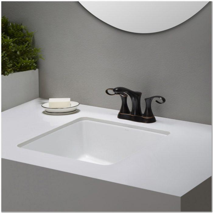 15 Inch Square Undermount Bathroom Sink