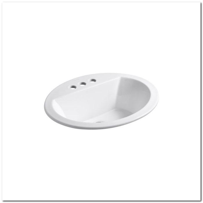 18 Oval Drop In Sink