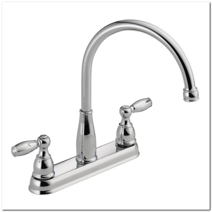 2 Handle Kitchen Faucet In Chrome