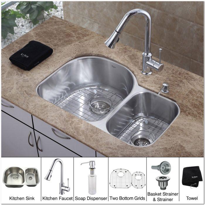 Kitchen Sink 19 X 33: 19 X 33 Inch Kitchen Sink