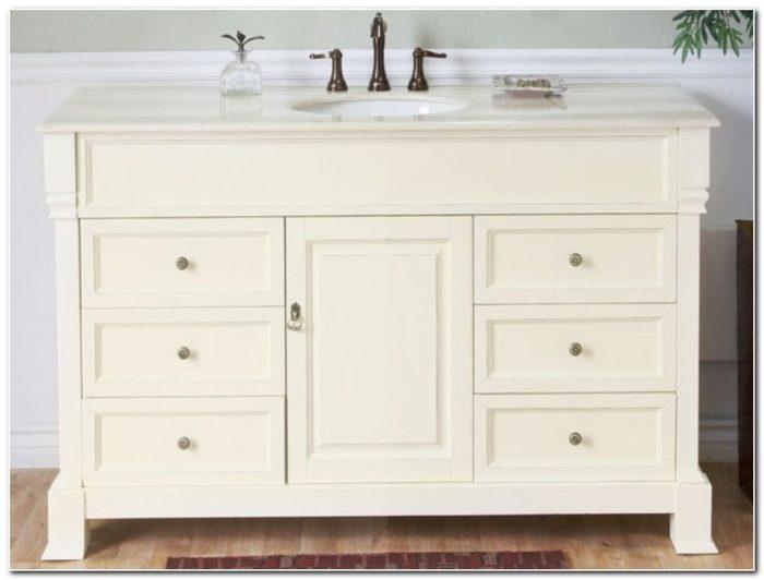 60 Inch Bath Vanity Single Sink