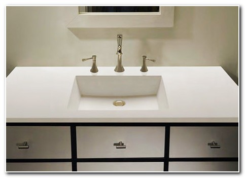 All In One Sink And Countertop
