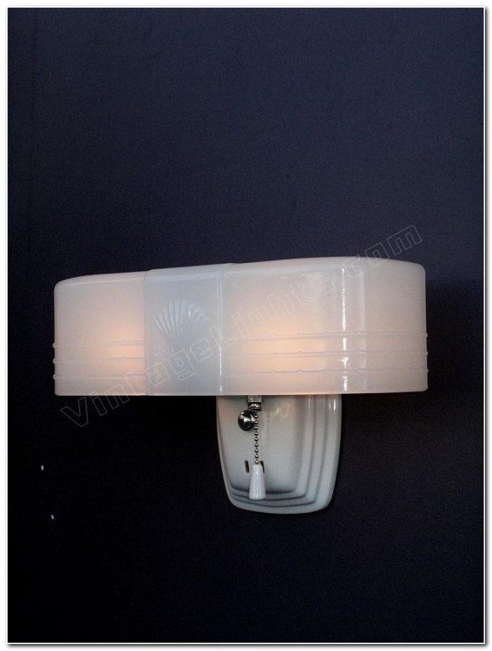 Art Deco Bathroom Light Fixtures