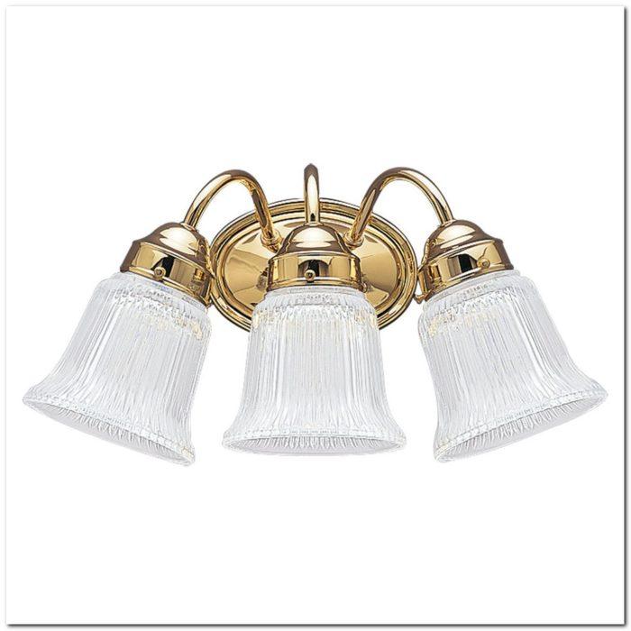 Bathroom Light Fixtures Polished Brass